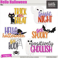 Hello Halloween Titles