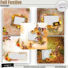 Fall Festive Quickpages
