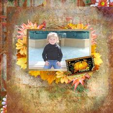 Fall Festive Quickpages details