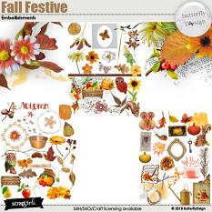 Fall Festive Embellishments