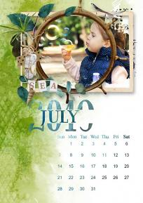 layout using Value pack : Calendar 2019 DIY  by florju designs