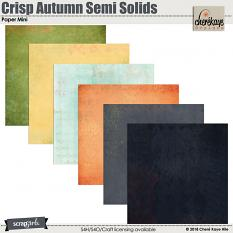 Crisp Autumn Semi Solids Paper Mini by Cheré Kaye Designs