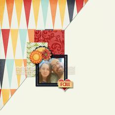 Fall Layout by Cheré Kaye Designs