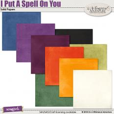 I Put A Spell On You Solid Papers by On A Whimsical Adventure