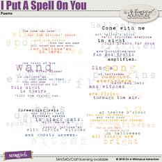 I Put A Spell On You Poems by On A Whimsical Adventure