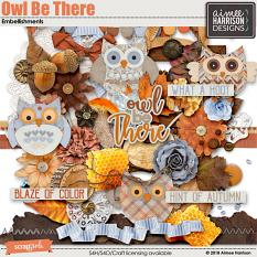 Owl Be There Embellishments