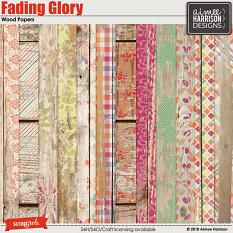Fading Glory Wood Papers