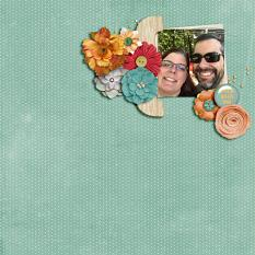Stick With Me layout by Cheré Kaye Designs