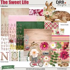 The Sweet Life Collection by DRB Designs | ScrapGirls.com