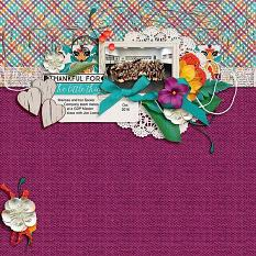 Layout by Joanna using So Grateful - Wood-grains