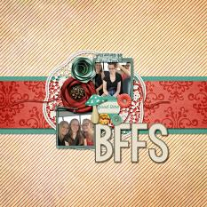BFFS Layout by Cheré Kaye Designs