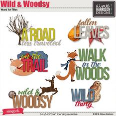 Wild and Woodsy Titles