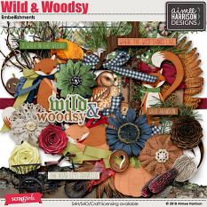 Wild and Woodsy Embellishments