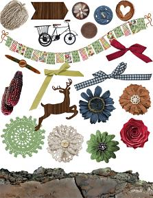 Wild and Woodsy Embellishments 1
