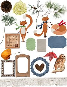 Wild and Woodsy Embellishments 2