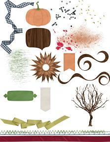Wild and Woodsy Embellishments 3