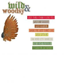 Wild and Woodsy Embellishments 4