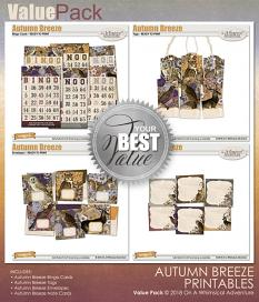 Value Pack Autumn Breeze Printables by On A Whimsical Adventure