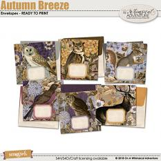 Autumn Breeze Envelopes by On A Whimsical Adventure