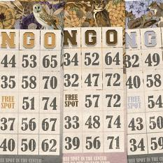 Autumn Breeze Bingo Cards by On A Whimsical Adventure