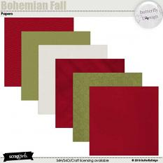 Bohemian Fall papers