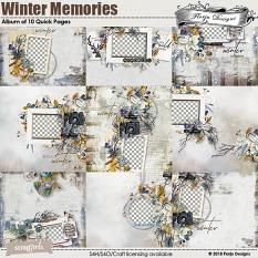Easy Page Pro: Winter Memory Album by florju designs