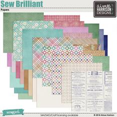 Sew Brilliant Papers