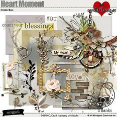 ScrapSimple Digital Layout Collection:Heart Moment