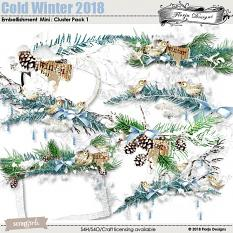 layout using Value pack : Cold Winter 2018 by Florju Designs