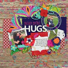 Layout by Joanna using ScrapSimple Embellishment Templates: Tag Along 7