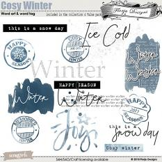 Value pack : Cosy Winter by Florju Designs