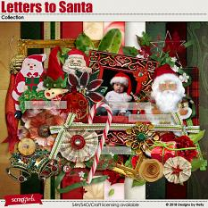 Letters to Santa Collection by Designs by Helly