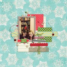 Cozy layout by Cheré Kaye Designs