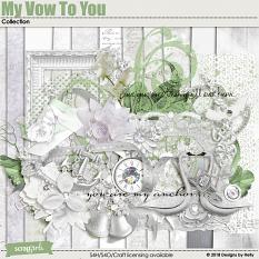 My Vow to You Collection by Designs by Helly