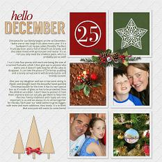 Daily December Layout 2 by Susie Roberts