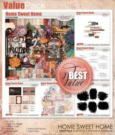 Home Sweet Home Value Pack by On A Whimsical Adventure