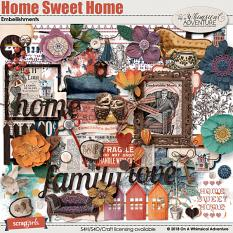 Home Sweet Home Embellishments by On A Whimsical Adventure