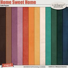Home Sweet Home Solid Papers by On A Whimsical Adventure