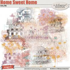 Home Sweet Home Artsy Bits by On A Whimsical Adventure