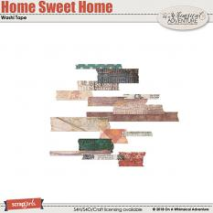 Home Sweet Home Washi Tape by On A Whimsical Adventure