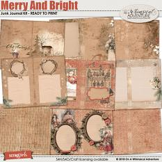 Merry And Bright Junk Journal by On A Whimsical Adventure