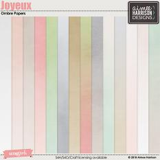 Joyeux Ombre Papers