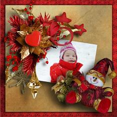 Golden Christmas Quickpages details