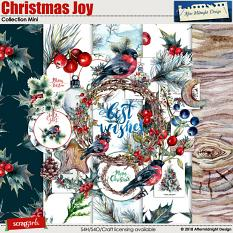Christmas Joy Mini Collection by Aftermidnight Design