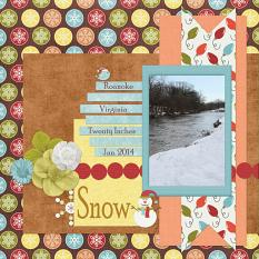 Layout Made with Tis' The Season By Charly Renay