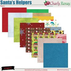 Santa's Helpers Papers By Charly Renay