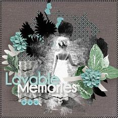 'Loveable Memories' #digitalscrapbook layout by AFT Designs - Amanda Fraijo-Tobin @Scrapgirls.com