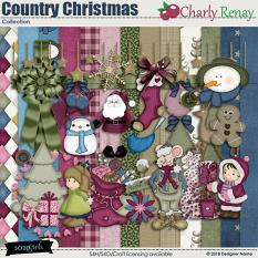 Country Christmas Collection By Charly Renay