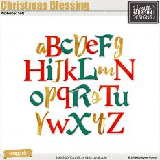 Christmas Blessing Alphas