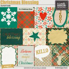 Christmas Blessing Journal Cards